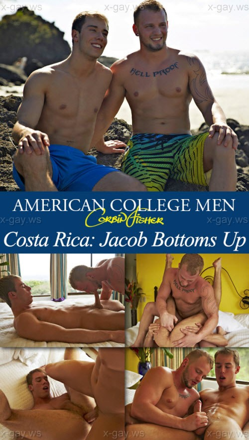 CorbinFisher – Costa Rica – Jacob Bottoms Up: Tom & Jacob, Bareback