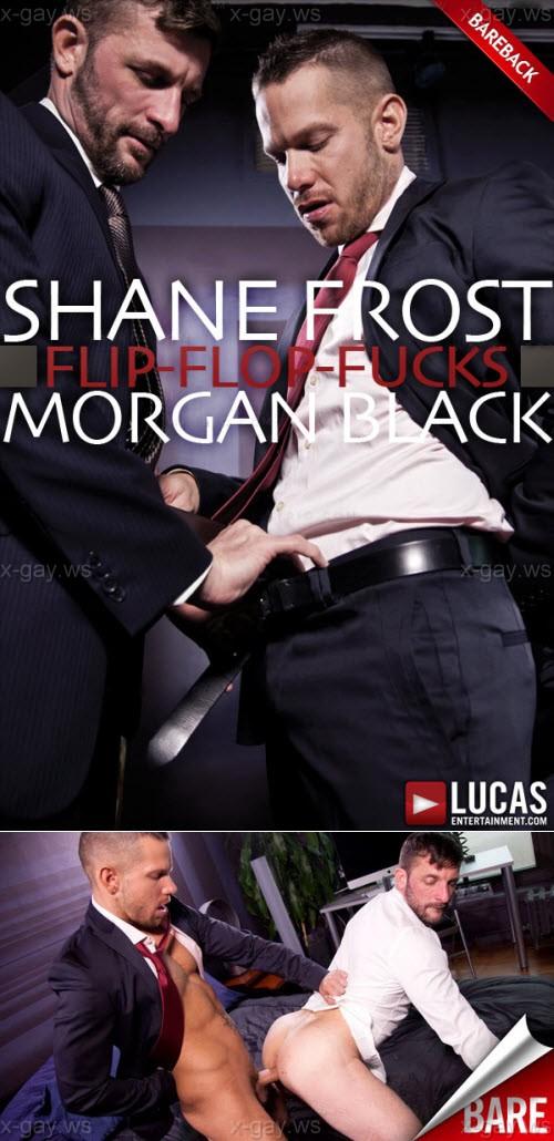 LucasEntertainment: Morgan Black, Shane Frost (Flip Flop Bareback)