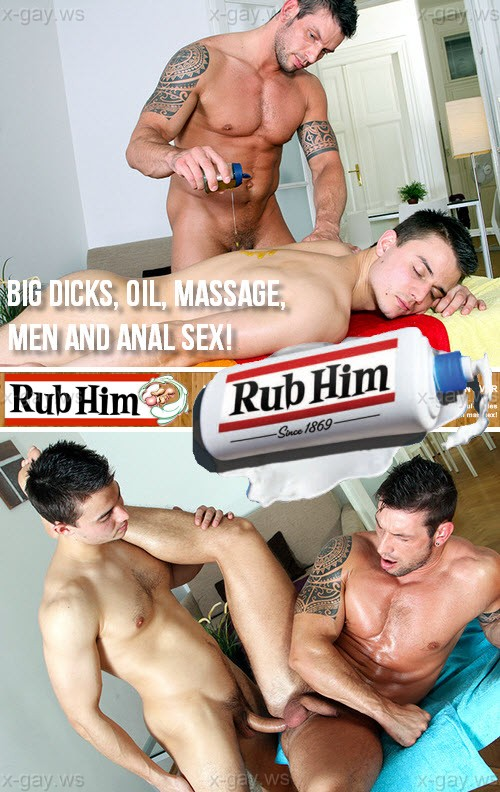 RubHim – Big Dicks, Oil, Massage, Men and Anal Sex!