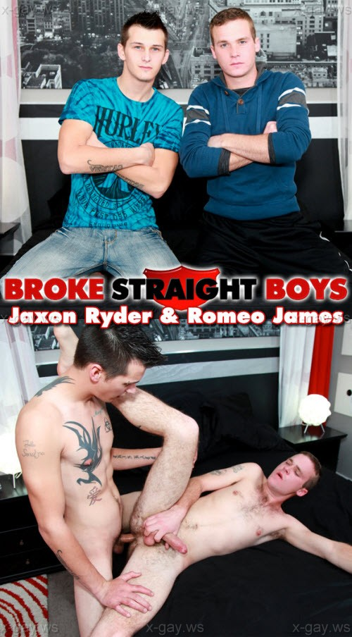 BrokeStraightBoys – Jaxon Ryder & Romeo James, Bareback