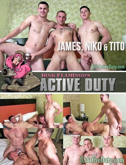 ActiveDuty – James, Niko & Tito