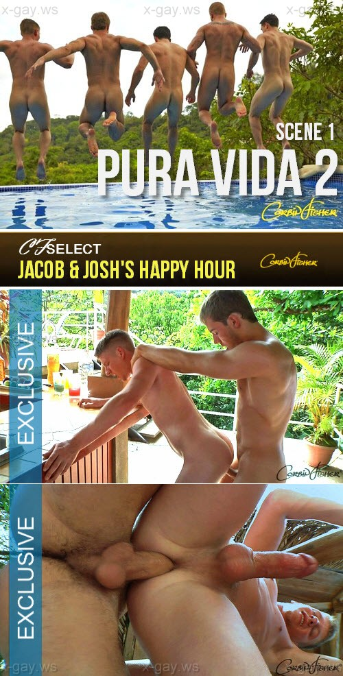 CorbinFisher – CFSelect – Jacob & Josh's Happy Hour, Bareback