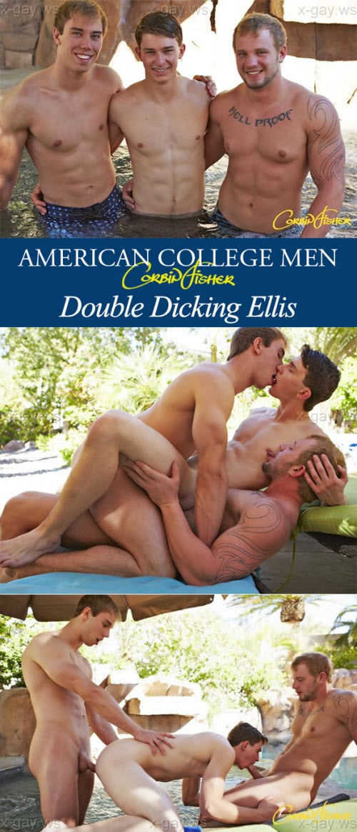 CorbinFisher – Double Dicking Ellis: Ellis, Tom & Jacob, Bareback