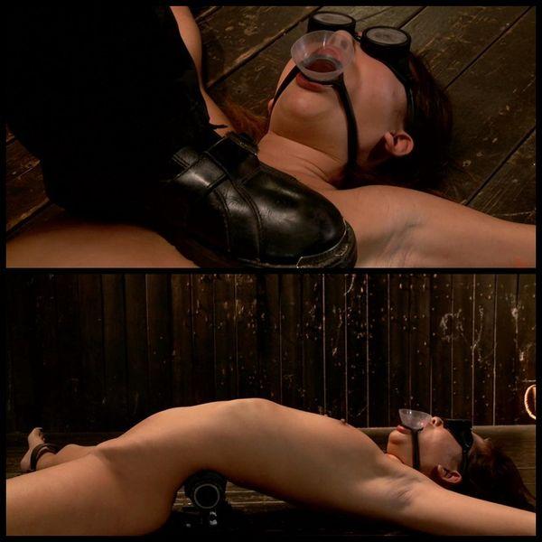 (28.02.2014) Asian Newcomer gets her first taste of bondage