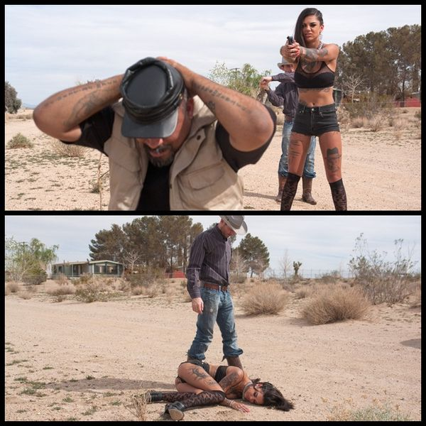 (11.04.2014) THE GOOD, THE BAD AND THE ROTTEN: A Feature Presentation with Bonnie Rotten and James Deen