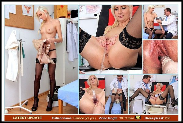 (20.04.2014) ExclusiveClub, ExposedNurses, GAPEMYPUSSY – Simone