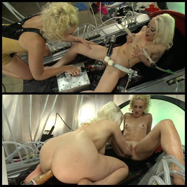(14.05.2014) THE LONG AWAITED ORGASMATRON SHOOT – BARBARELLA PARODY FEATURE